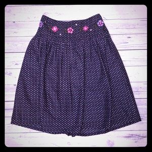 Gymboree polka dot skirt